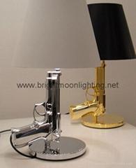 Bedside Gun Table Lamp  北歐 設計師 樹脂手槍 臺燈 BM-3029T S