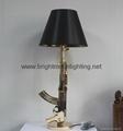 Resin AK 47 Gun Table Lamp  BM-3029T B