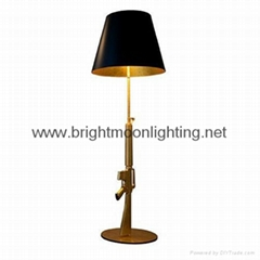 Resin Lounge Gun Floor Lamp  BM-3029F