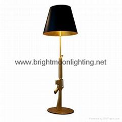 Resin Lounge Gun Floor Lamp  BM-3029F