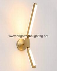 PRIS 指挥棒 现代 经典 铝材 & 亚克力 LED 壁灯