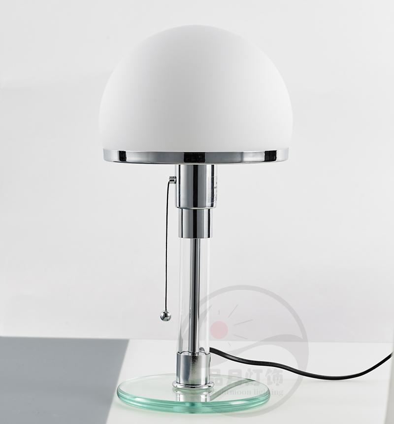 北歐后現代經典玻璃客廳床頭臺燈 3