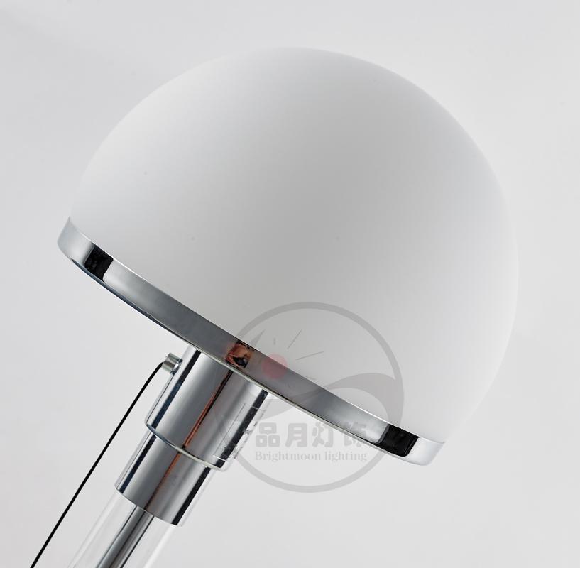 北歐后現代經典玻璃客廳床頭臺燈 4