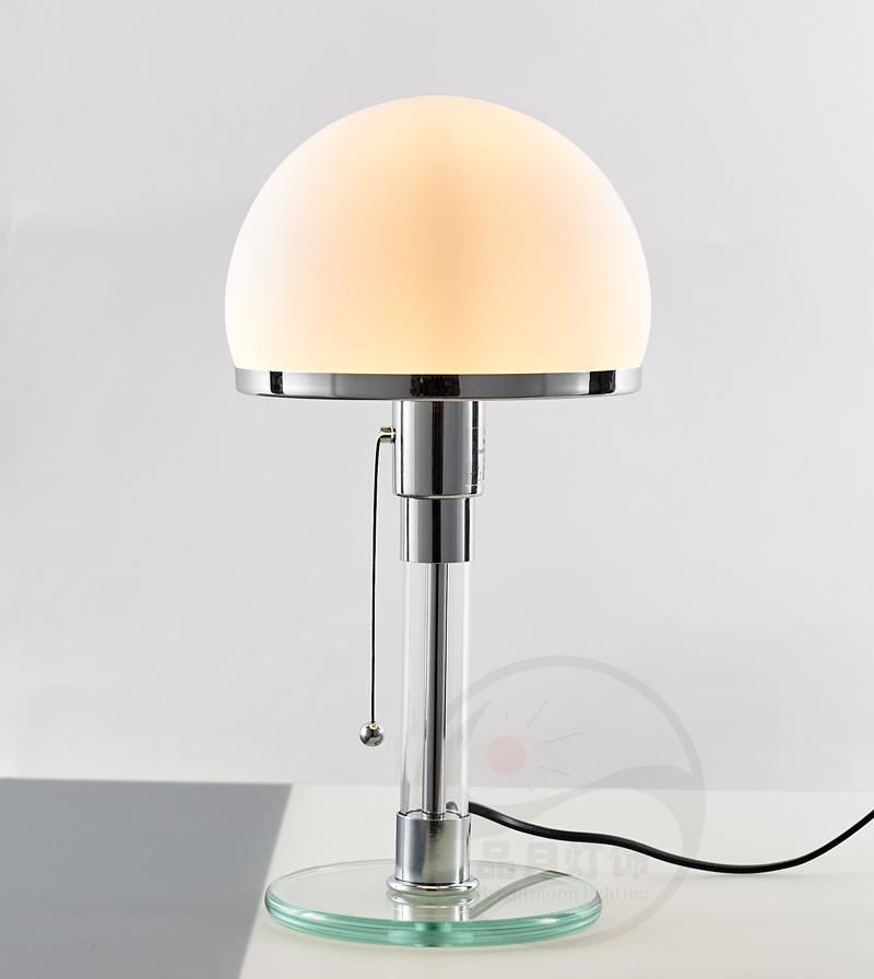 北欧后现代经典玻璃客厅床头台灯 2