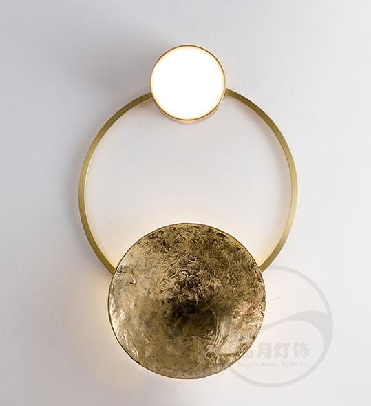 Brass modern & Class LED wall lamp