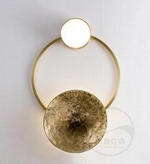 现代 经典 全铜  & 玻璃 LED 壁灯