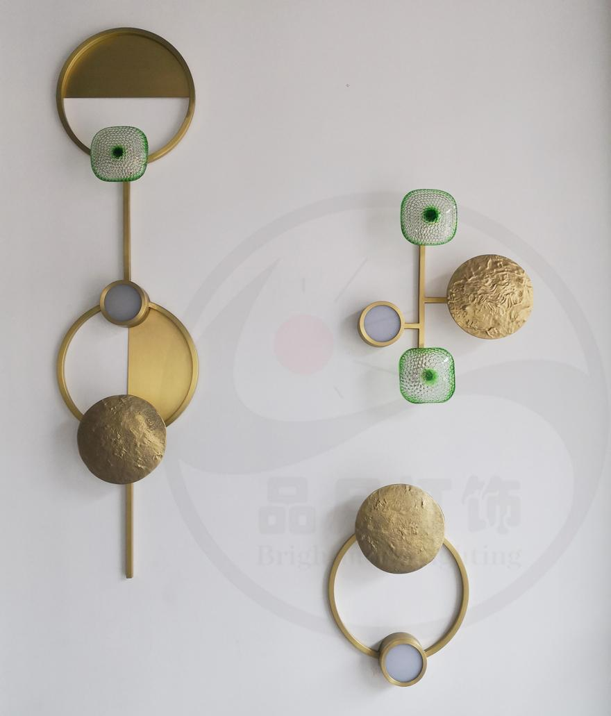Brass modern & Class LED wall lamp  3