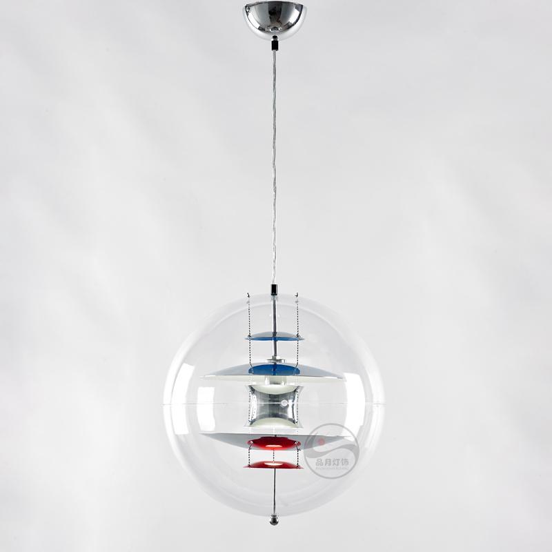 北歐現代經典VP 透明 亞克力圓球 餐吊燈 BM-4010P 1