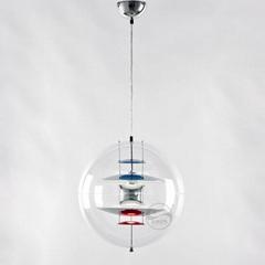 北欧现代经典VP 透明 亚克力圆球 餐吊灯 BM-4010P