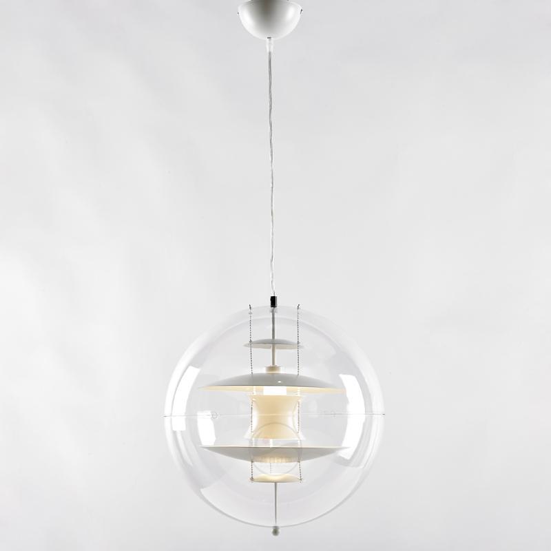 北歐現代經典VP 透明 亞克力圓球 餐吊燈 BM-4010P 2