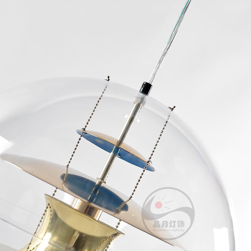 北歐現代經典VP 透明 亞克力圓球 餐吊燈 BM-4010P 5