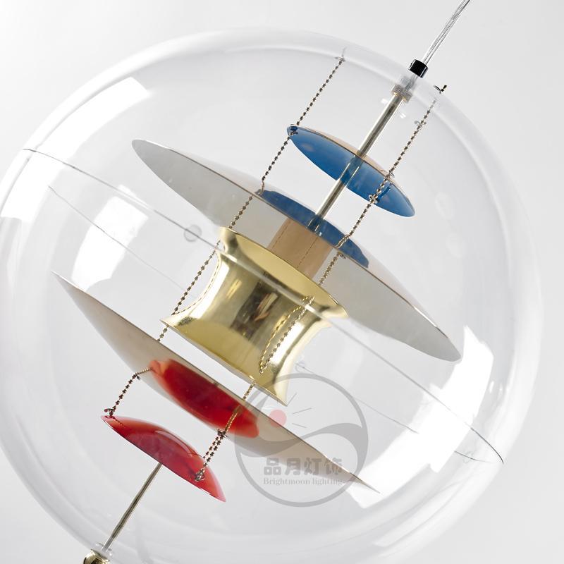 北歐現代經典VP 透明 亞克力圓球 餐吊燈 BM-4010P 4