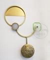 Brass modern & Class LED bedroom wall lamp  1