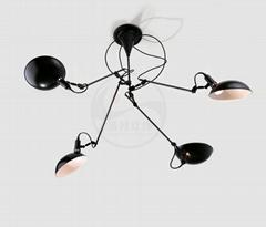 设计师后现代客厅餐厅吧台吊灯