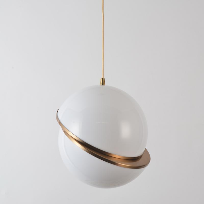 北欧现代经典VP 透明 亚克力圆球 餐吊灯 2