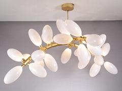 北歐現代經典亞克力餐廳客廳葡萄裝飾吊燈