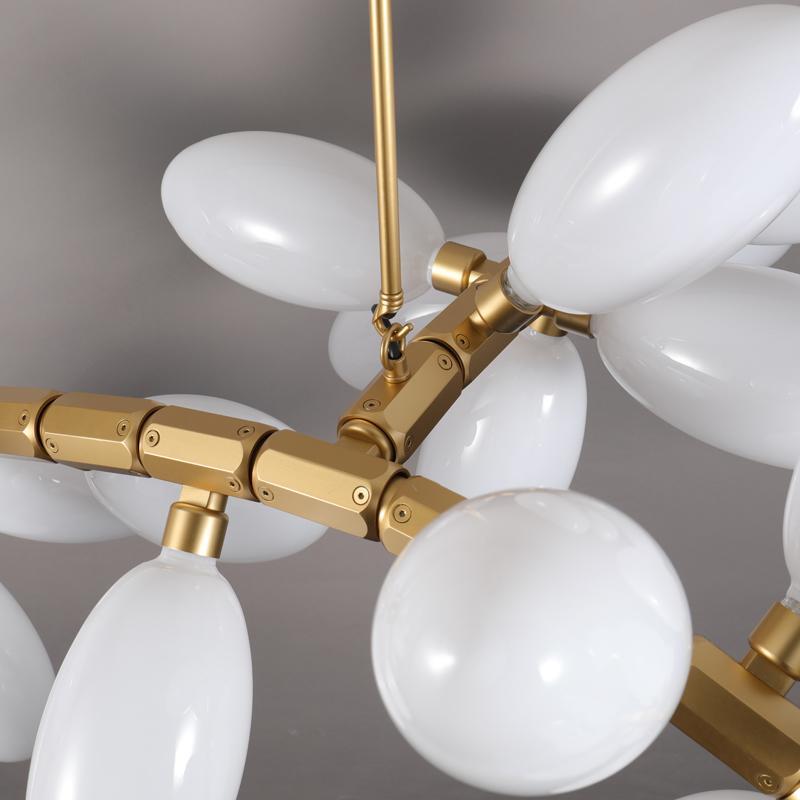 北歐現代經典亞克力餐廳客廳葡萄裝飾吊燈 9