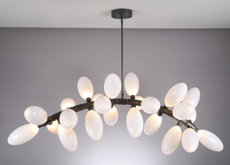 北歐現代經典亞克力餐廳客廳葡萄裝飾吊燈 5