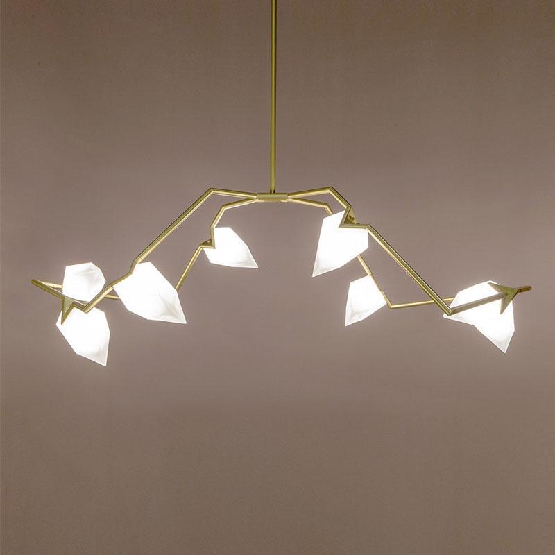 北歐現代經典亞克力餐廳客廳桃子裝飾吊燈 2
