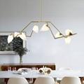 北歐現代經典亞克力餐廳客廳桃子裝飾吊燈 1