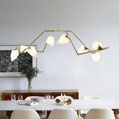 北欧现代经典亚克力餐厅客厅桃子装饰吊灯