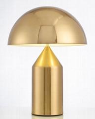 圆规磨菇铅笔北欧后现代经典床头台灯