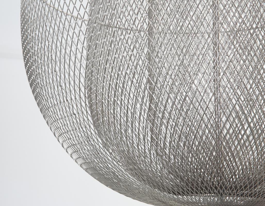 北歐現代經典鐵籠鐵網餐廳客廳裝飾吊燈 4