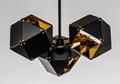 北欧设计师现代多面体组合客厅吊灯 3