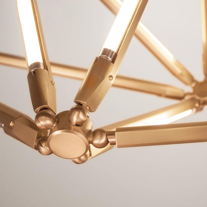 北歐現代經典亞克力餐廳客廳桃子裝飾吊燈 7