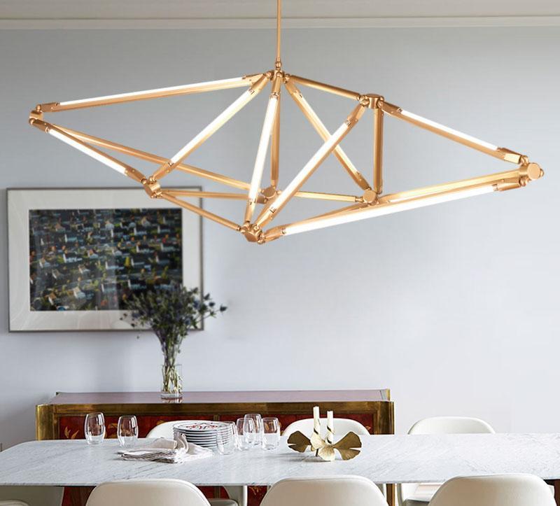 Modern Classic Peach lobby Pendant Light 2