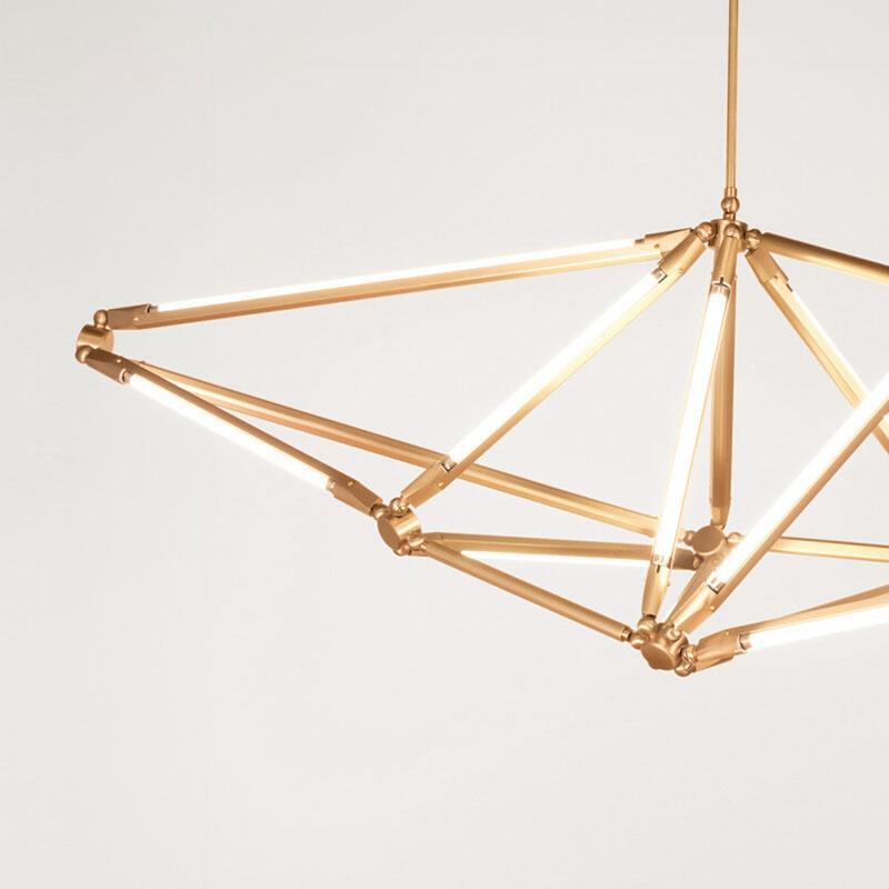 北歐現代經典亞克力餐廳客廳桃子裝飾吊燈 5