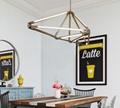北歐現代經典亞克力餐廳客廳桃子裝飾吊燈 4
