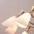 北欧设计师现代客厅鸽子玻璃餐吊灯