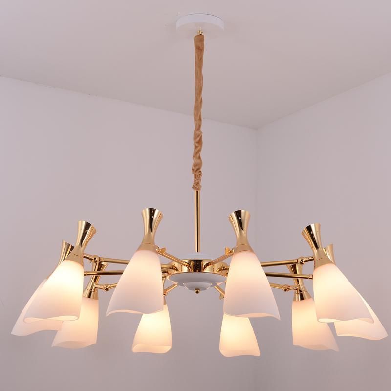 Glass modern Chandelier lamp 2