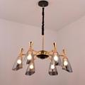 Glass modern Chandelier lamp 3