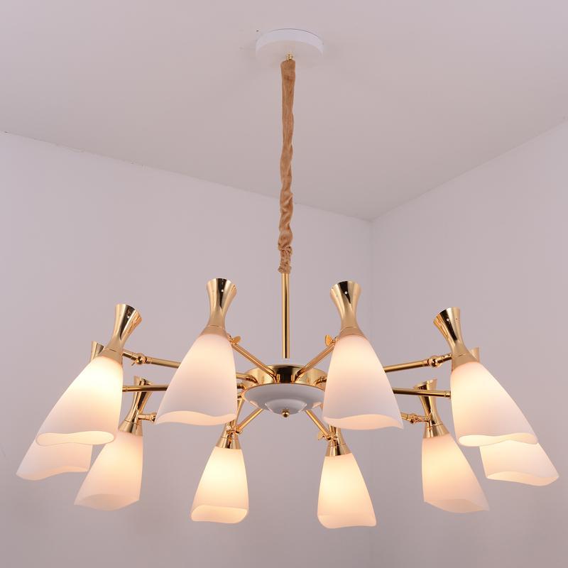 Glass modern Chandelier lamp 1