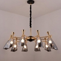 Glass modern Chandelier lamp