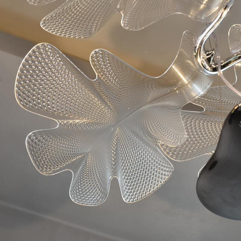 Acrylic flower modern Chandelier lamp 5