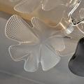 北歐設計師現代客廳亞克力花瓣餐吊燈 5