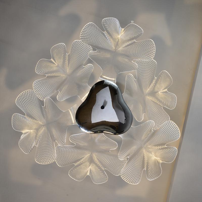 Acrylic flower modern Chandelier lamp 4