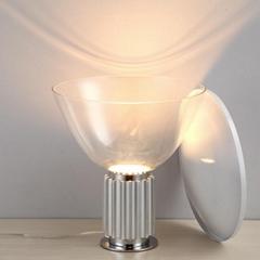 北欧后现代经典玻璃雷达客厅床头台灯