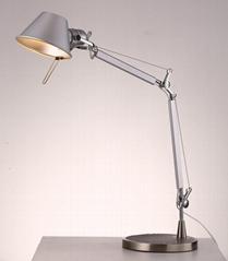 北歐后現代經典鋁材床頭臺燈