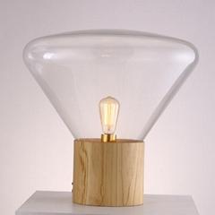 现代 经典 Muffins 木头 玻璃 捷克 台灯 BM-3008T  B