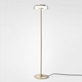 Modern decorative glass floor lamp