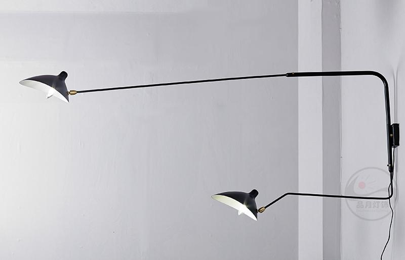 北欧摇臂灯简约复古工业风客厅张牙舞爪壁灯 BM-3026W-1 4
