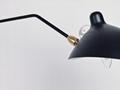 北欧摇臂灯简约复古工业风客厅张牙舞爪壁灯 BM-3026W-1 2