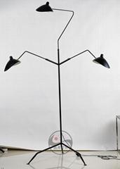 后現代創意張牙舞爪臥室客廳北歐落地燈 BM-3026F-3