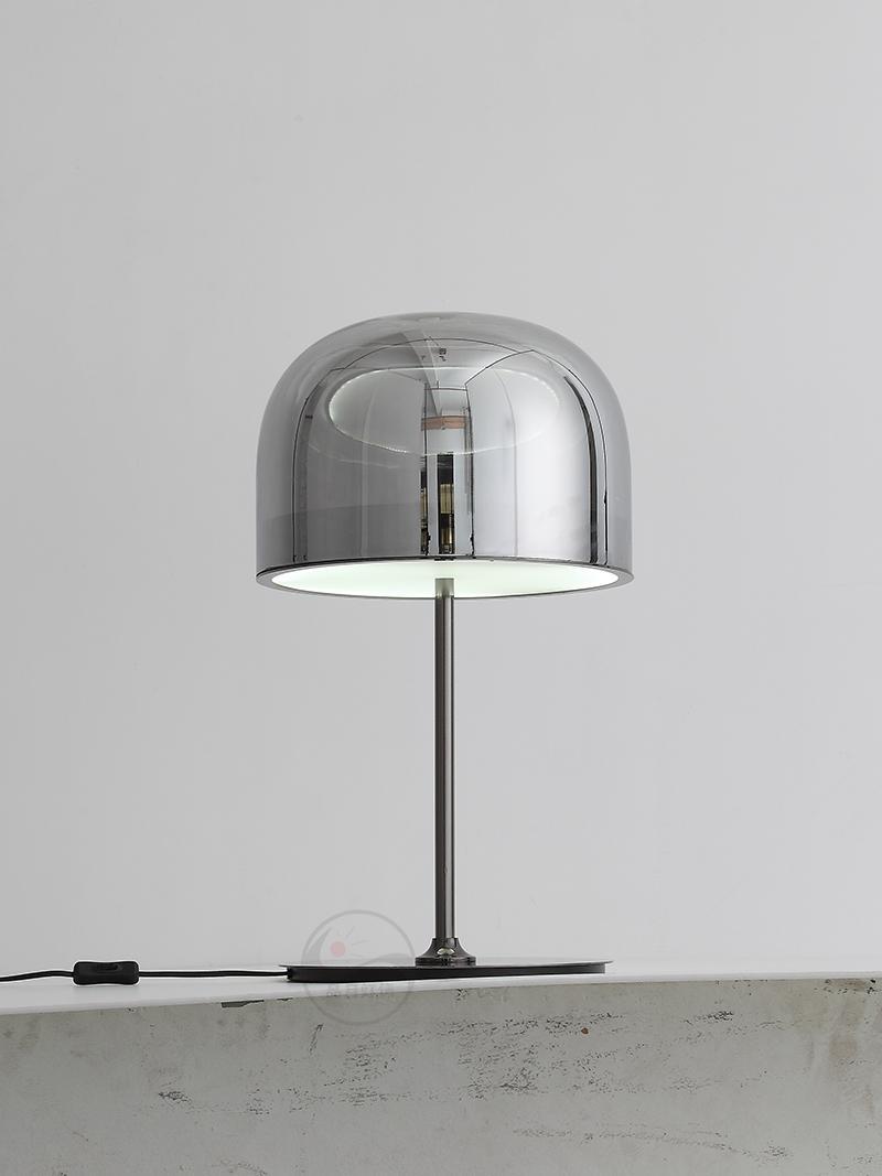 后現代輕奢玻璃臺燈設計師樣板房創意現代裝飾床頭臺燈 BM-3040T 1