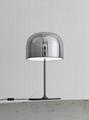 后现代轻奢玻璃台灯设计师样板房创意现代装饰床头台灯 BM-3040T 1