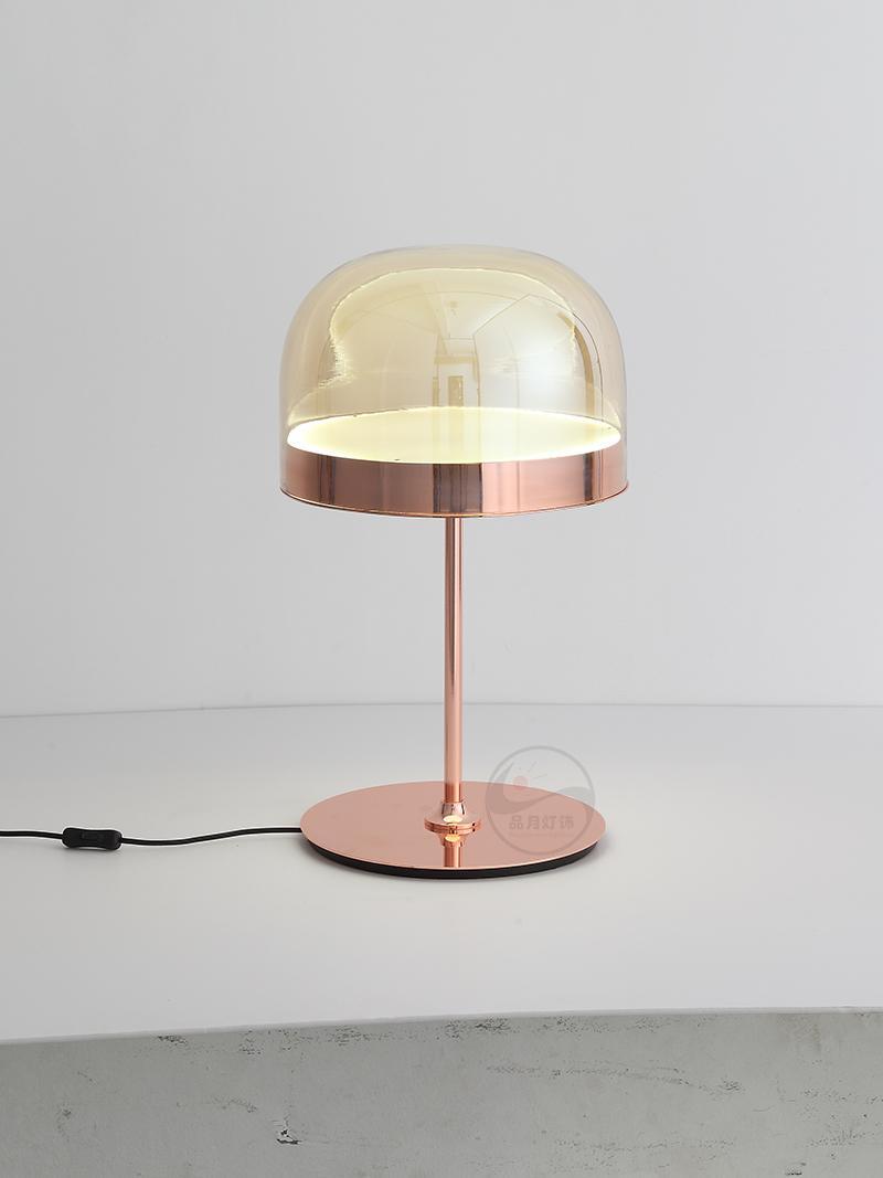 后现代轻奢玻璃台灯设计师样板房创意现代装饰床头台灯 BM-3040T 2